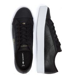 Lacoste Ziane Plus Grand 721 1 / White Sneakers - Black