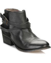 Hudson Jeans Womens Jet Black Horrigan Boots