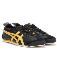 Onitsuka Tiger Mexico 66 / Honey Gold Trainers - Black