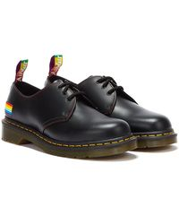 Dr. Martens Dr. Martens 1461 Smooth Pride Shoes - Black