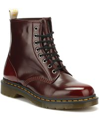 Dr. Martens Dr. Martens 1460 Vegan Womens Cherry Red Boots