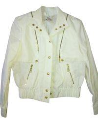 Céline Made In France Cotton And Nylon Light Bomber Jacket - White