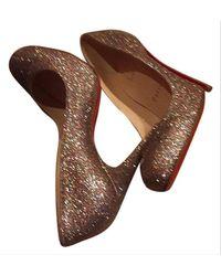 Christian Louboutin Multicolour Ron Ron 100 Formal Shoes - Brown