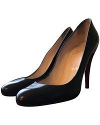 Christian Louboutin Ron Ron 100 Court Shoes - Black