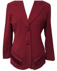 Dior Pant Suit - Red