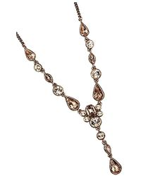 Givenchy Rose Gold Necklace - Metallic