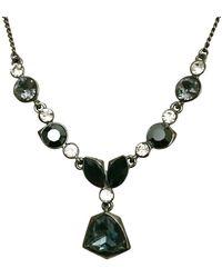 Givenchy Blue White Y Multi Colour Stones Necklace