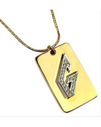 Givenchy Rare 1979 Necklace - Metallic