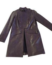 Chloé Violet Coat - Multicolour