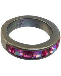 Givenchy Rhinestone Ring - Pink