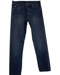 Dior Men's Denim Relaxed Fit Jeans - Blue