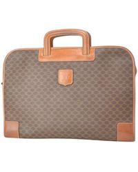 Céline Vintage Briefcase. Laptop Bag - Brown