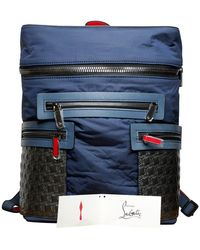 Christian Louboutin Apoloubi Neo Leather Backpack - Blue