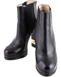 Chanel Boots/booties - Black