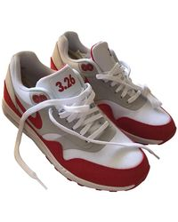 Nike Red And White Air Max 1 Ultra 2.0 Le Trainers - Multicolour