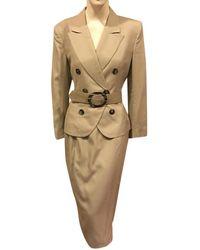 Dior Skirt Suit - Natural