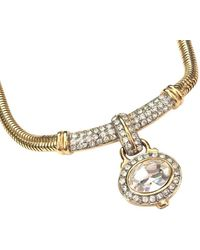 Givenchy Gold Tone Necklace - Metallic