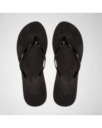 Reef - Bliss Black Flip Flops - Lyst
