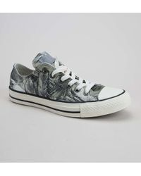 bed82e138d3f Converse Chuck Taylor All Star Womens Dolphin Grey Suede Ox Trainers ...