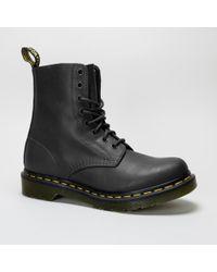 Dr. Martens - Dr Martens Pascal 13512006 Black Boots - Lyst