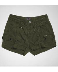 Superdry - Soft Utility Short Shorts - Lyst