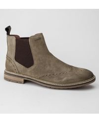 Superdry - Brad Brogue Chelsea Boot Boots - Lyst