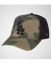 KTZ - New Era Washd Camo Truck Hats - Lyst