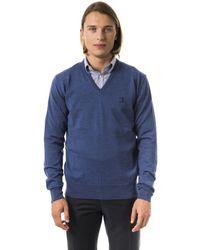 Uominitaliani Avio Sweater Blue Uo816595