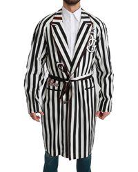 Dolce & Gabbana Cotton Robe - Black