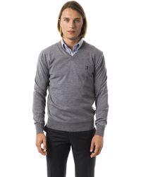 Uominitaliani Grimd Sweater Gray Uo816597