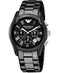 Emporio Armani Ceramica Black Watch