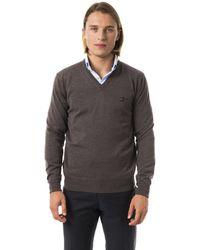 Uominitaliani Noce Sweater Gray Uo815828