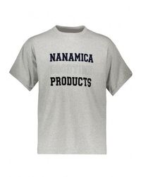 Nanamica Products Tee - Grey