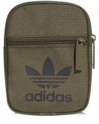 1d7f7d00a4 adidas Originals Small Items Bag in Blue for Men - Lyst