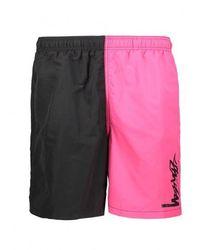 Stussy Panel Water Shorts - Black