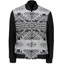 Pendleton Zip Gorge Jacket - Grey
