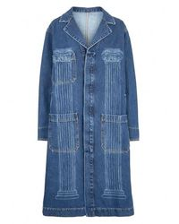 Vivienne Westwood Duster Coat - Blue