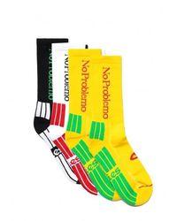 Aries No Problemo Socks 3 Pack - Multicolour
