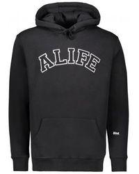 Alife Collegiate Hoodie - Black