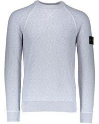 Stone Island - Badge Sweater - Lyst