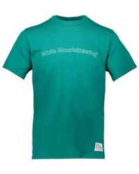 White Mountaineering Logo Tee - Green