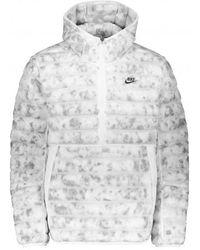 Nike Marble Insulation Jacket - White