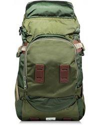F/CE Satin Big Travel Backpack - Green