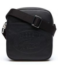 Lacoste Xs Vertical Camera Bag - Black