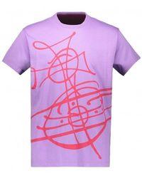 Vivienne Westwood Classic T - Purple