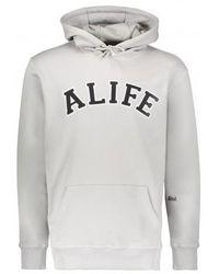 Alife Collegiate Hoodie - Grey