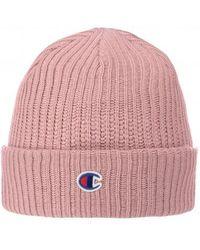 Champion Beanie Cap - Pink