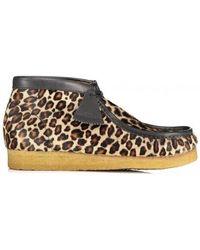 Clarks Wallabee Boot - Multicolor