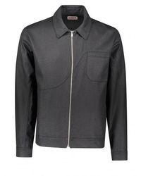 EDEN power corp Corp Hemp + Organic Coach Jacket - Black