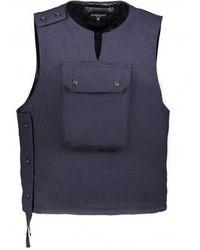 Engineered Garments Cover Vest Uniform - Blue